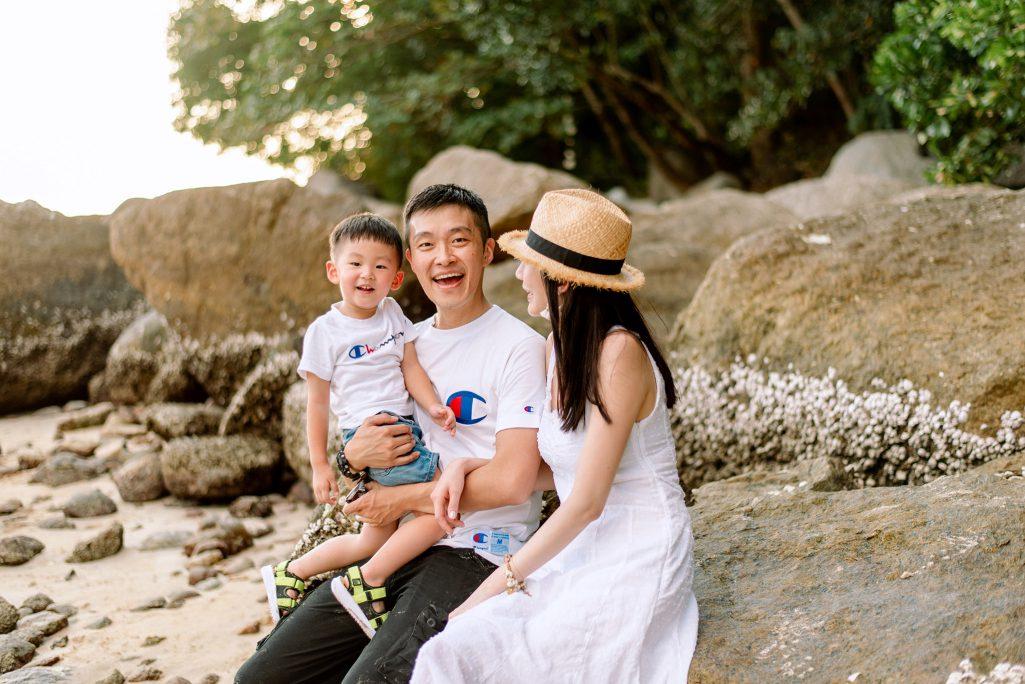 Phuket family photo shoot, Phuket photography