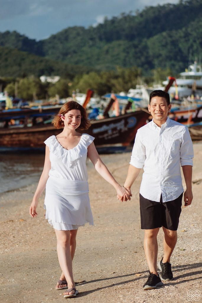 Krabi honeymoon photography