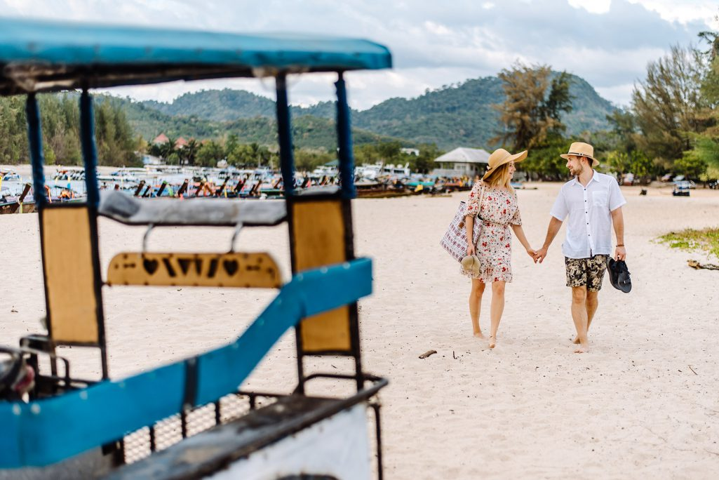 Krabi honeymoon photo shoot, Krabi photographer